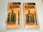 Guru 2 x Commercial Cage Feeder ALL VARIETEIS Fishing tackle