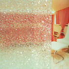 3D Etched Decorative Frosted Window Film Static PVC Glass Vinyl Frosted Pebbles