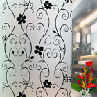 Bedroom Bathroom Home Glass Window Film Frosted Vinyl PVC Privacy Paper Bvine