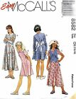 McCall's 8582 Girls Dress in Two Lengths Pattern MANY SIZES OOP VINTAGE
