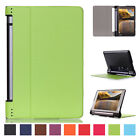 Luxury Ultra-Slim Leather Flip Protect Case Cover For Lenovo Yoga Tab 3 YT3-850F