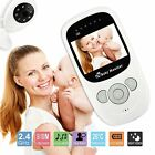 Wireless 2.4GHz Digital Color LCD Baby Monitors Camera Night Vision Audio Video