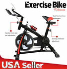 2018 Exercise Bike Indoor Cycling  Fitness Stationary Bicycle Cardio Workout LOT