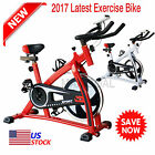 2017 Exercise Bike Indoor Cycling  Fitness Stationary Bicycle Cardio Workout LOT image