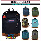 JANSPORT 100% Accurate COOL STUDENT  BIG BACKPACK ORIGINAL SCHOOL BOOK BAG