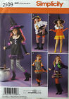 SIMPLICITY PATTERN COSTUME 5 DESIGNS GIRLS' SIZE 7-14 # 2509