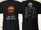 New Guns N' Roses GNR Tour 2017 Not in this lifetime RARE Black T-Shirt S-3XL
