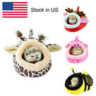 Hamster Small Animal Bed Hammock Rat Hedgehog Squirrel House Nest Pad For Cage