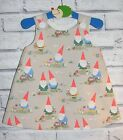 Gnomes Cath Kidston Fabric 'Simply Awesome' Handmade Dresses