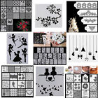 Letter Alphabet Number Flower Layering Scrapbooking Embossing Paper Card Crafts