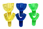 F2 Medical Dental Impression Trays, 12 Per Bag, 6 Sizes, Uppers & Lowers