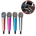 Portable 3.5mm Professional Handheld Wired Mini Cell Phone Microphone Stereo Mic