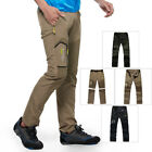 Men Detachable Outdoor Anti-UV Quick Dry Pants Hiking Camping Climbing Trousers