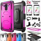 Shockproof Hybrid Armor Hard Phone Case Cover for LG G Stylo /G4 Stylus /LS770