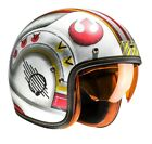 HJC FG70s X-Wing Fighter Pilot Jethelm Helm Star Wars Luke Skywalker Motorrad
