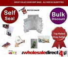 'CLEAR' PVC GRIP SEAL BAGS - All Sizes Available -Great value & Quality 6