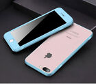 Shockproof Slim Hybrid Transparent Back Thin Cover Case for iPhone 6 6s 7 7 Plus