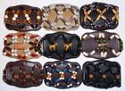 Double Magic Hair Combs, Angel Wings Clips, African Butterfly Style, Quality S61