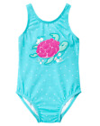 NWT Gymboree Girls Swim Swimsuit Blue Turtle White Dot 1 pc FREE US SHIP NEW
