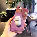 Squishy Cat Panda Smartphone Case Soft Animal Cases Iphone 6 6s Plus 7 Silicone