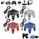 4 x USB Wired Controller Games Gamepad Joystick For Nintendo 64 N64 System
