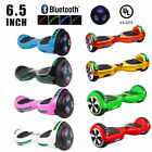 """UL2272 Bluetooth LED 6.5"""" Solid Color  Self Balance Electric Scooter HoverBoard"""