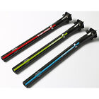 Full Carbon Fiber 20mm Offset Cycling Road Bike Bicycle Seat Post MTB Seatpost