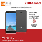 New Xiaomi Mi Note 2 4G LTE 5.7 Inch 128GB Factory Unlocked Android Smart Phone