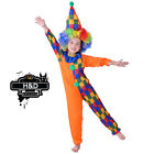 Clown Boy Circus Carnival Polka Dot Fancy Dress Up Halloween Child Costume