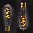 Industrial Vintage Dimmable Edison Filament Light Bulb Squirrel Cage E27-4/6W