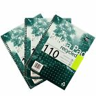 Pukka Pad White A4 Recycled Wirebound Pads 110 Page 80gsm Ruled/Margin FREE P&P