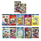 200+ Stickers Pad Birthday Party Favors Cars Paw Patrol Mickey Minnie Spiderman