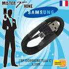 CABLE DATA AUTHENTIQUE SAMSUNG NOIR EP-DG950CBE TYPE-C GALAXY A3 A5 2017 S8 S8+