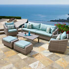 Rst Brands Cannes 8 Piece Sofa and Club Chair Set