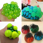 Anti Stress Face Reliever Grape Ball Autism Mood Squeeze Relief ADHD Toy Splend