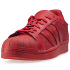 adidas Superstar Mens Trainers Red New Shoes
