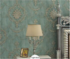 10M European Style Environmental 3D Non-woven Bedroom Living Room Wallpaper5.3㎡