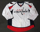 New Washington Capitals Authentic Team Issued Reebok Edge 20 Hockey Jersey