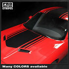Dodge Challenger Over Top Shaker Style Stripes Decals 2011 2012 2013 2014