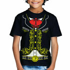 Viva Mexico - Toddler Kids Mexican Mariachi Charro Halloween Costume T-Shirt