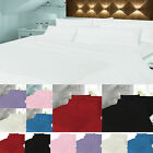 Queens Land Home Flannelette Flat Sheets 100% Brushed available in Seven Colours