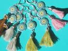 Colourful Gypsey Tassel Earrings choose colour