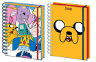 Official Adventure Time Lined Notebook A5 Journal Novelty TV Student Gift