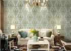 10M Vintage Style Environmental Friendly 3D Non-woven Living Room Wallpaper5.3㎡