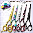 Left Handed Professional Hairdressing Scissors Lefty Barber Shears RAZOR 5.5