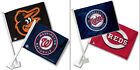 MLB Team Logo Car Window Flag Made By Fremont Die -Select- Team Below on Ebay