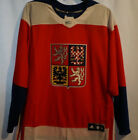TEAM CZECH REPUBLIC 2016 World Cup of Hockey Premier RED Hockey Jersey NWT  MS