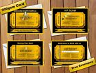 Old Years Night / New Years Eve / Boxing Day VIP Ticket Party Invitations