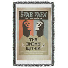 """Star Trek TOS """"Ep 5 - The Enemy Within"""" Dye Sublimation Blanket/Throw"""