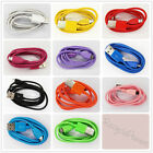COLOR 1M 3FT USB 2.0 Micro B data Charging Cable Cord For Samsung Galaxy LOT